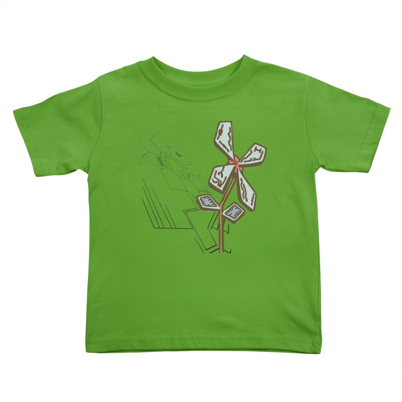 Shadow of Itself in Kids Toddler T-Shirt Apple by Make a statement, laugh, enjoy.