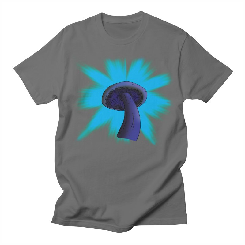 Mushroom Men's T-Shirt by Make a statement, laugh, enjoy.