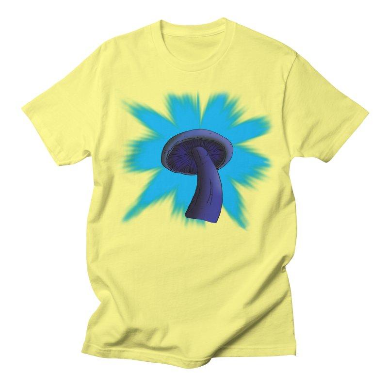 Mushroom Men's T-Shirt by Make a statement, laugh, enjoy.