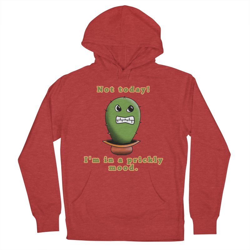 Bad mood Women's French Terry Pullover Hoody by Make a statement, laugh, enjoy.