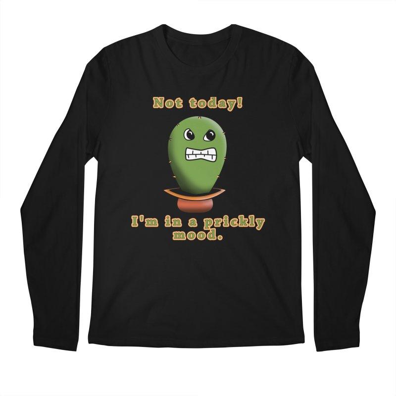 Bad mood Men's Regular Longsleeve T-Shirt by Make a statement, laugh, enjoy.