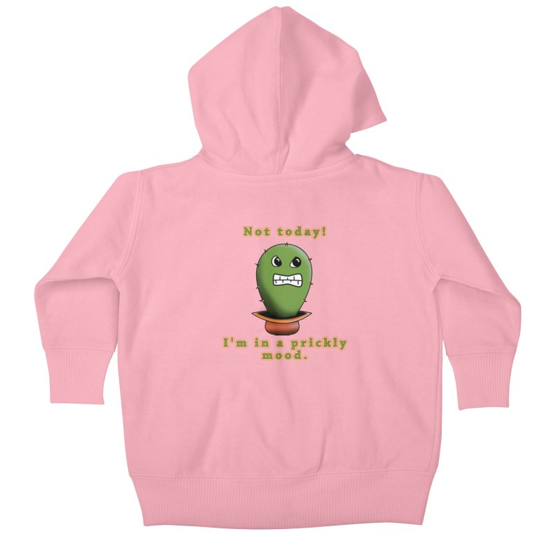 Bad mood Kids Baby Zip-Up Hoody by Make a statement, laugh, enjoy.