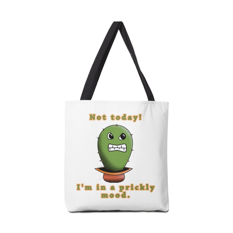 Bad mood Accessories Tote Bag Bag by Make a statement, laugh, enjoy.