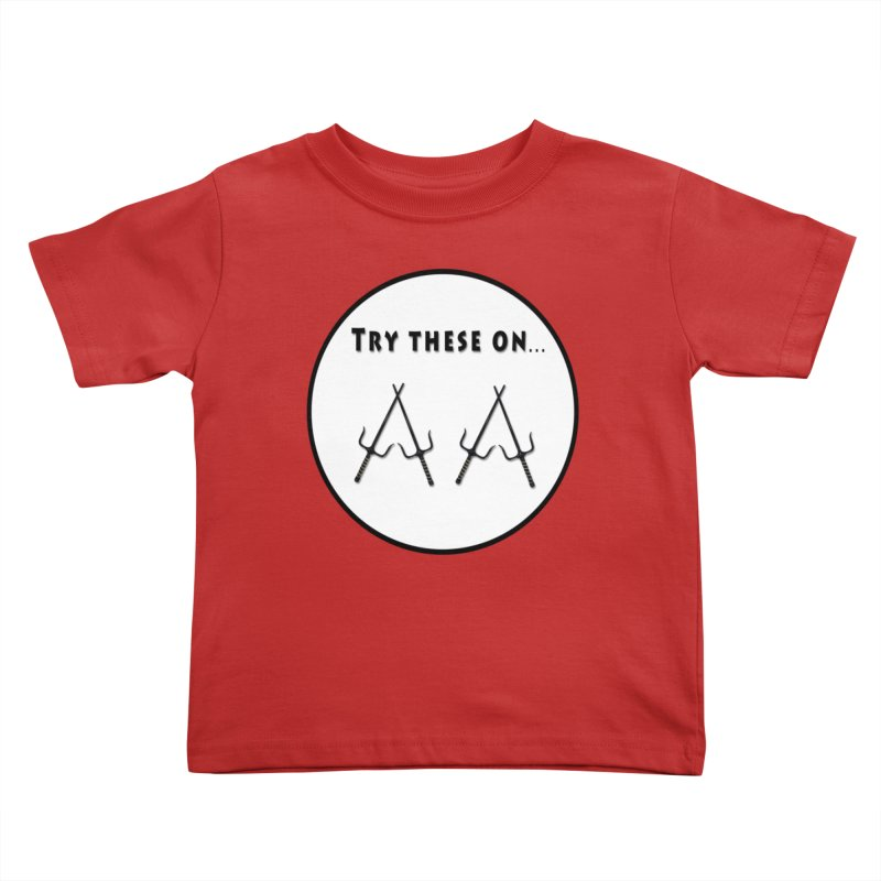 Try these on... Kids Toddler T-Shirt by Sporkshirts's tshirt gamer movie and design shop.