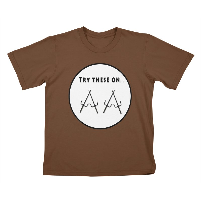 Try these on... Kids T-Shirt by Sporkshirts's tshirt gamer movie and design shop.