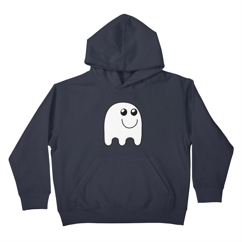 Happy Ghost Kids Pullover Hoody by Sporkshirts's tshirt gamer movie and design shop.
