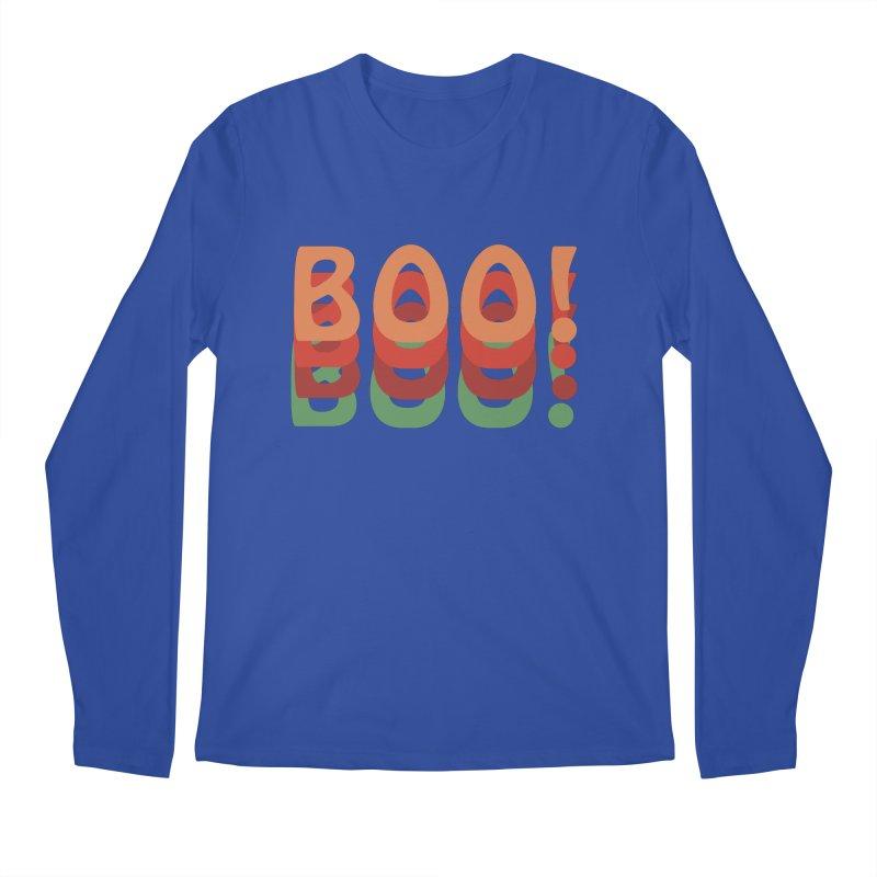 Boo! Men's Regular Longsleeve T-Shirt by Make a statement, laugh, enjoy.