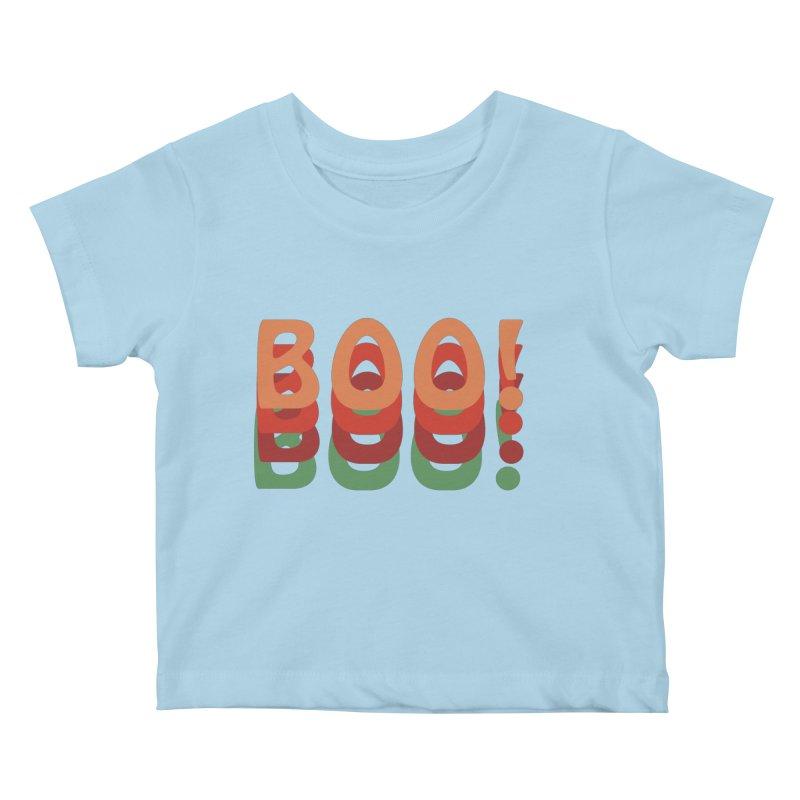 Boo! Kids Baby T-Shirt by Make a statement, laugh, enjoy.