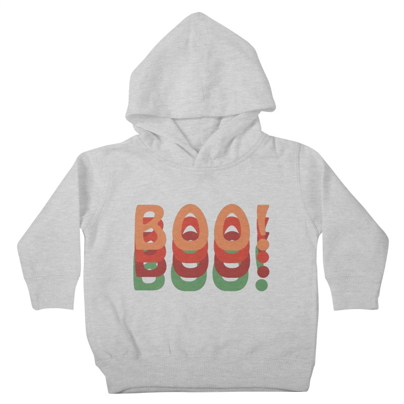 Boo! Kids Toddler Pullover Hoody by Make a statement, laugh, enjoy.