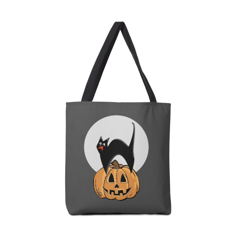 Halloween cat Accessories Tote Bag Bag by Make a statement, laugh, enjoy.