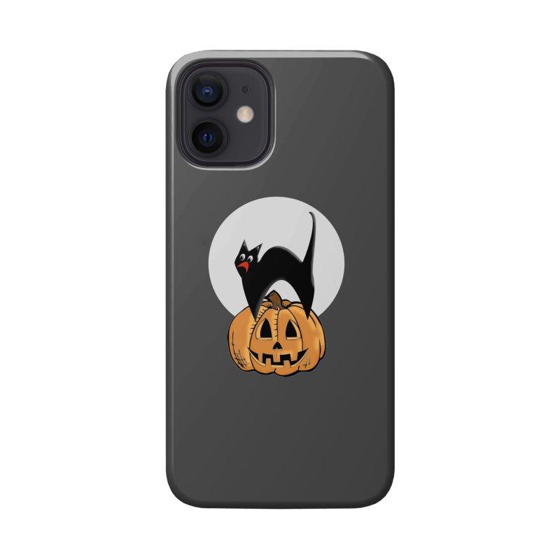 Halloween cat Accessories Phone Case by Make a statement, laugh, enjoy.
