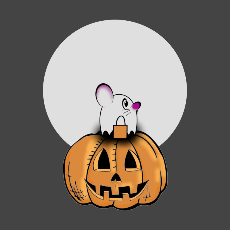Halloween mouse in ghost costume. Accessories Mug by Make a statement, laugh, enjoy.