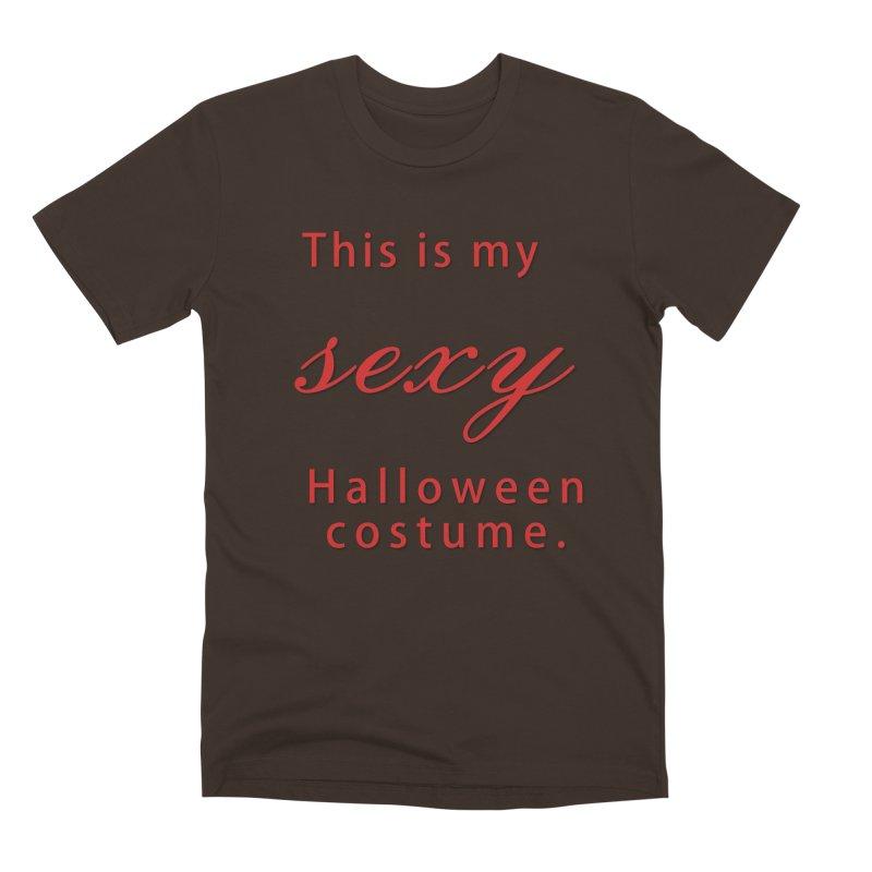 This is my sexy Halloween shirt Men's Premium T-Shirt by Sporkshirts's tshirt gamer movie and design shop.
