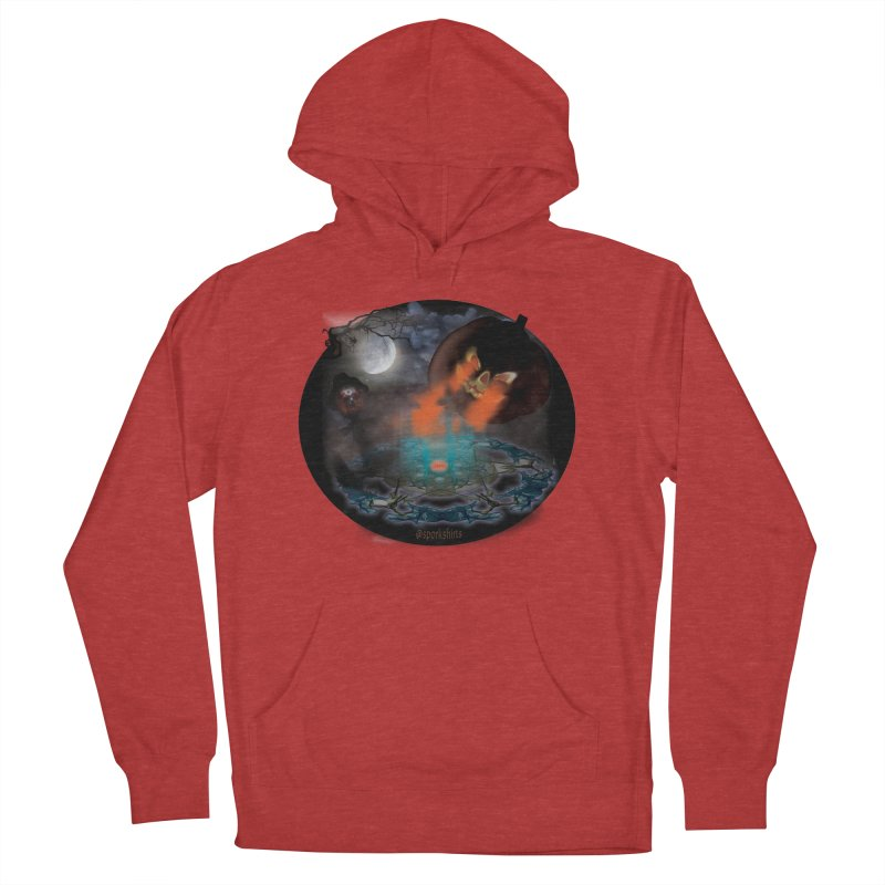 Evil Jack-o-Lantern Men's French Terry Pullover Hoody by Make a statement, laugh, enjoy.
