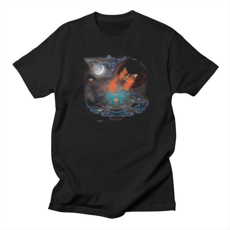 Evil Jack-o-Lantern Men's Regular T-Shirt by Make a statement, laugh, enjoy.