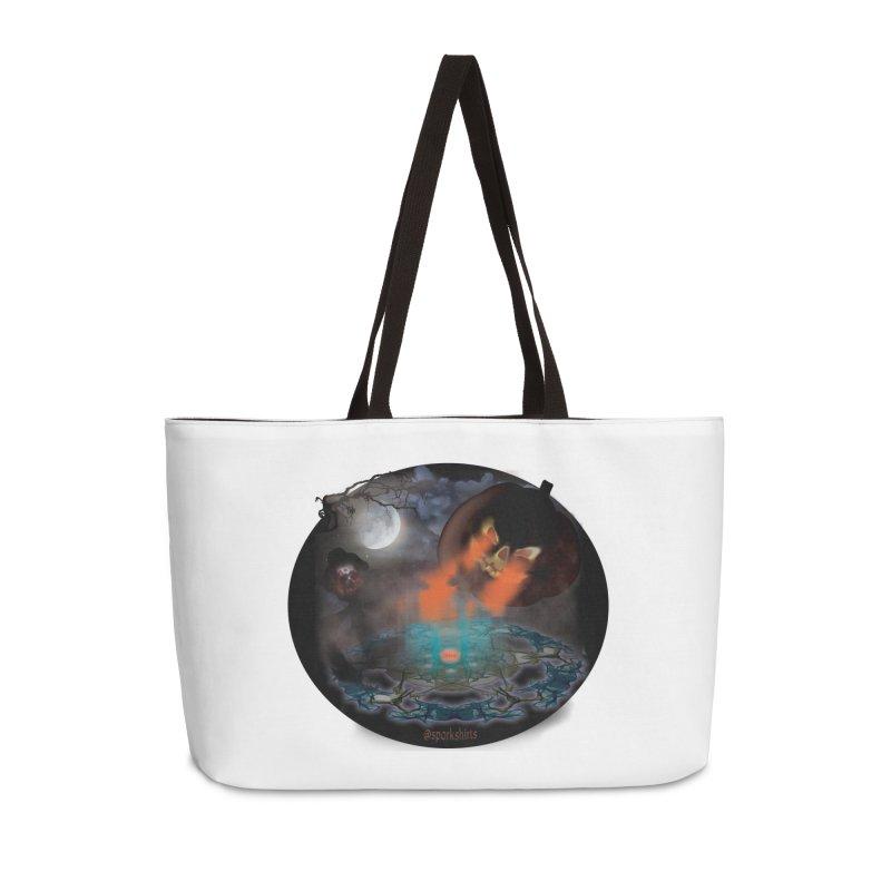 Evil Jack-o-Lantern Accessories Weekender Bag Bag by Make a statement, laugh, enjoy.