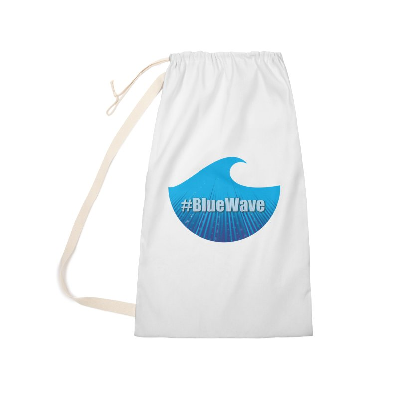 The Blue Wave Accessories Laundry Bag Bag by Make a statement, laugh, enjoy.