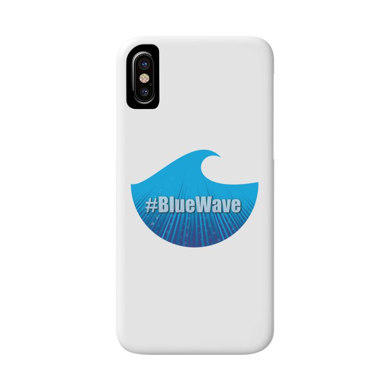 The Blue Wave Accessories Phone Case by Sporkshirts's tshirt gamer movie and design shop.