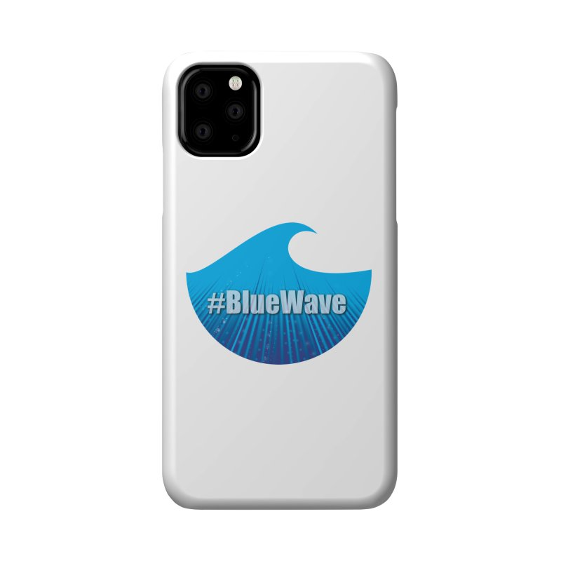 The Blue Wave Accessories Phone Case by Make a statement, laugh, enjoy.
