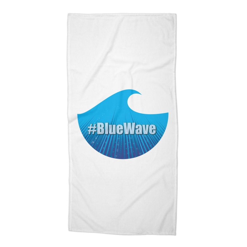 The Blue Wave Accessories Beach Towel by Sporkshirts's tshirt gamer movie and design shop.