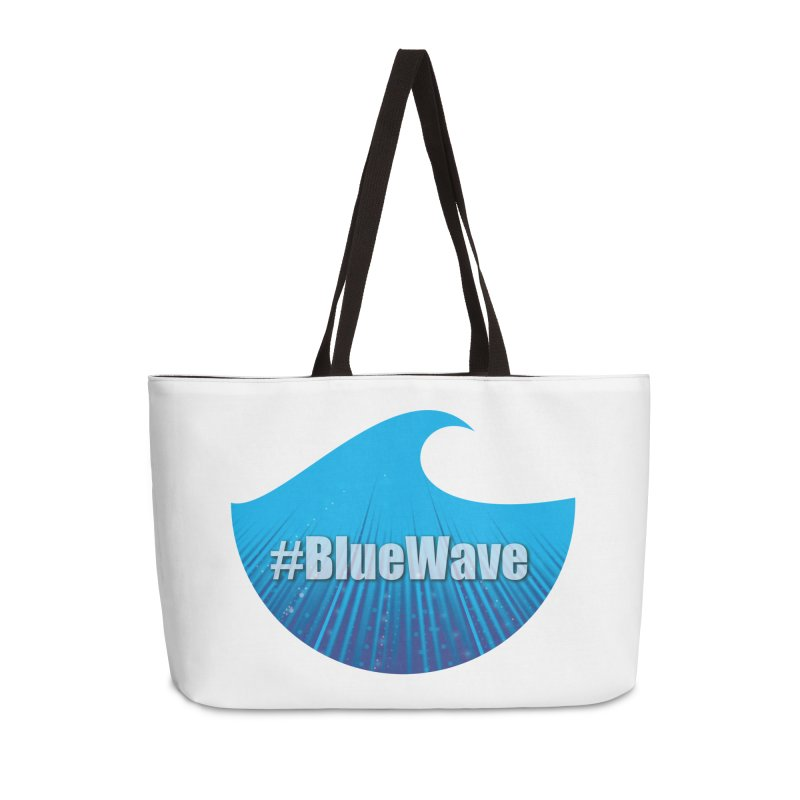 The Blue Wave Accessories Weekender Bag Bag by Make a statement, laugh, enjoy.