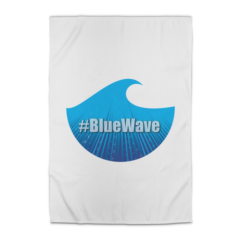 The Blue Wave Home Rug by Make a statement, laugh, enjoy.