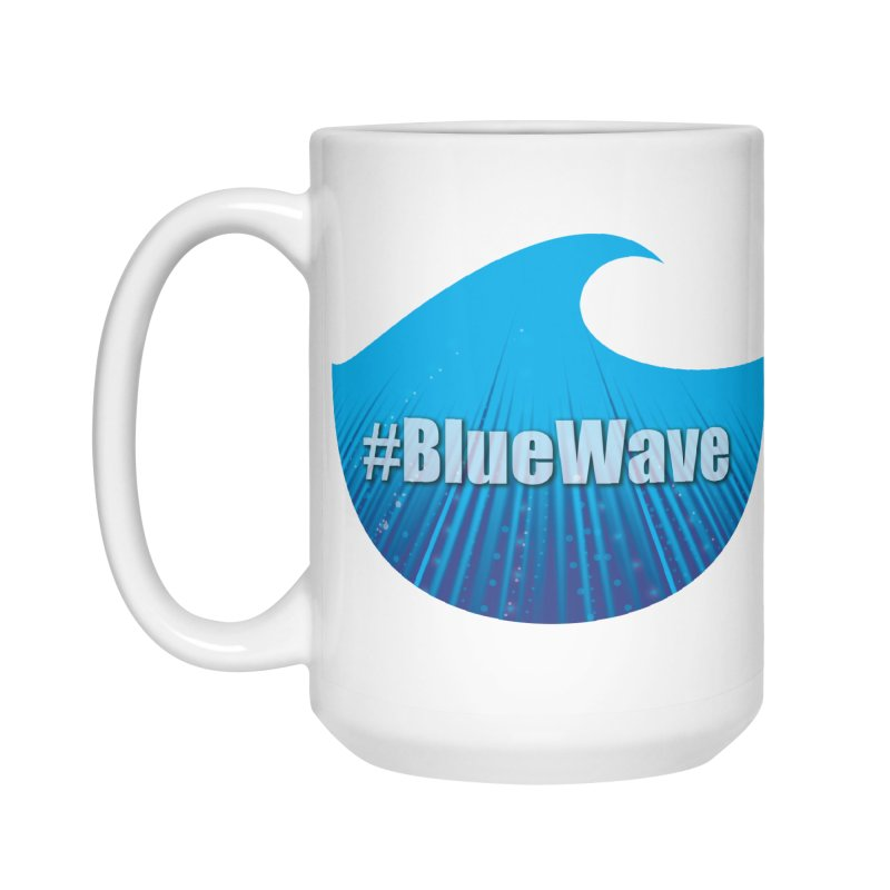 The Blue Wave Accessories Standard Mug by Sporkshirts's tshirt gamer movie and design shop.