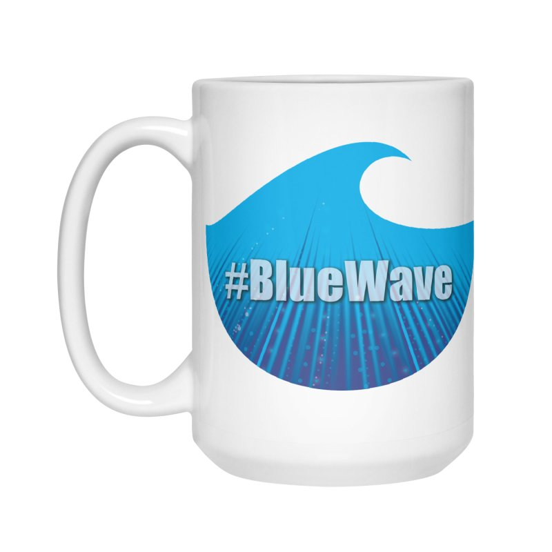 The Blue Wave Accessories Standard Mug by Make a statement, laugh, enjoy.