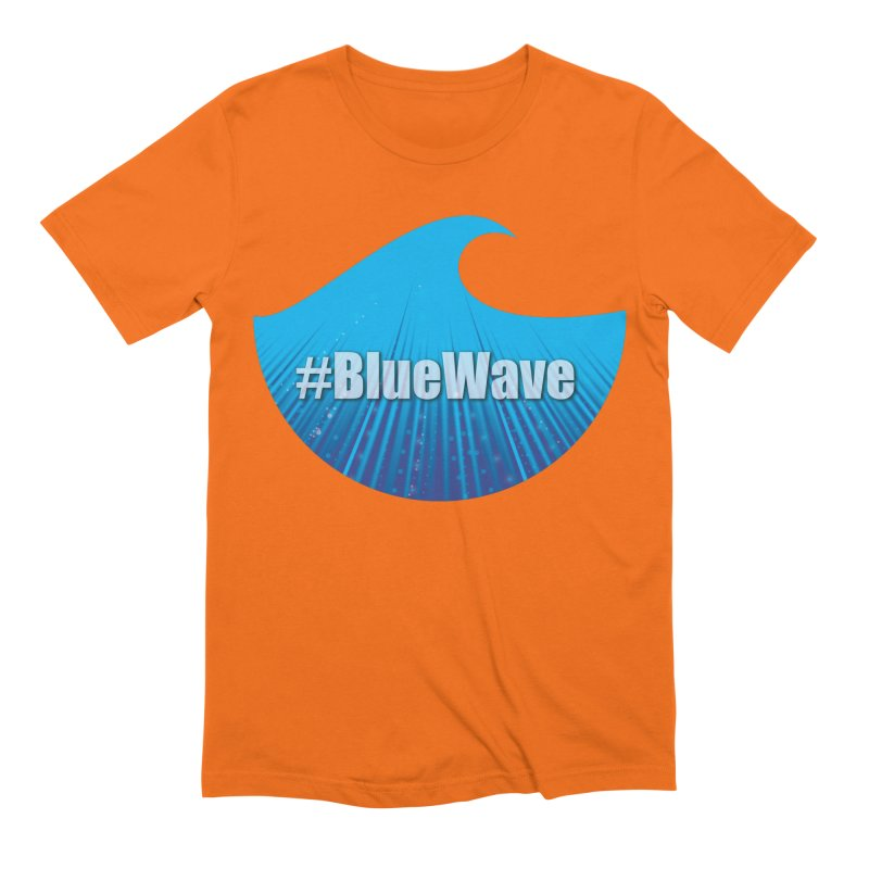 The Blue Wave Men's Extra Soft T-Shirt by Sporkshirts's tshirt gamer movie and design shop.