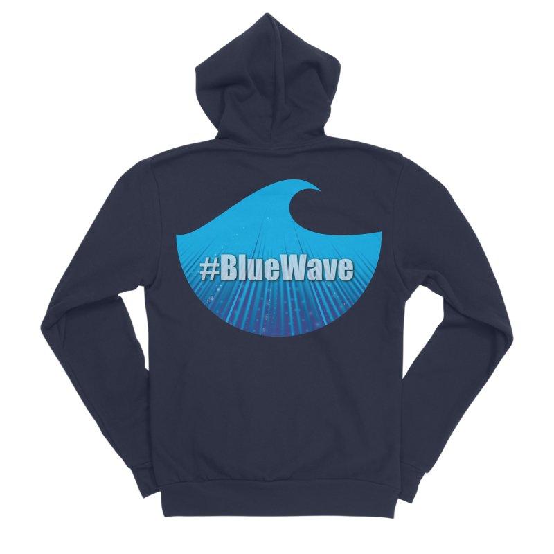The Blue Wave Women's Sponge Fleece Zip-Up Hoody by Sporkshirts's tshirt gamer movie and design shop.