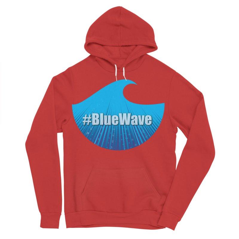 The Blue Wave Men's Sponge Fleece Pullover Hoody by Sporkshirts's tshirt gamer movie and design shop.
