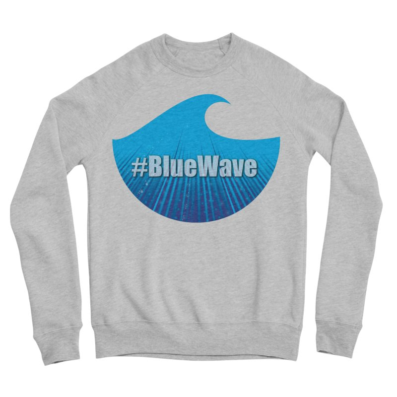The Blue Wave Women's Sponge Fleece Sweatshirt by Sporkshirts's tshirt gamer movie and design shop.