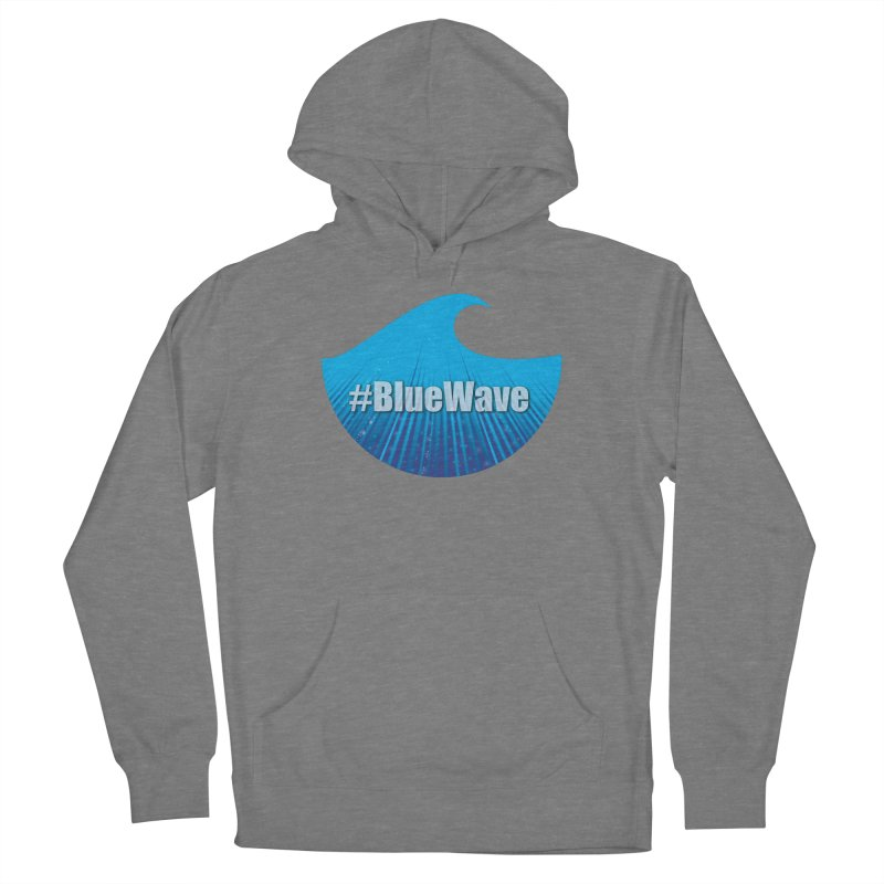 The Blue Wave Women's Pullover Hoody by Make a statement, laugh, enjoy.
