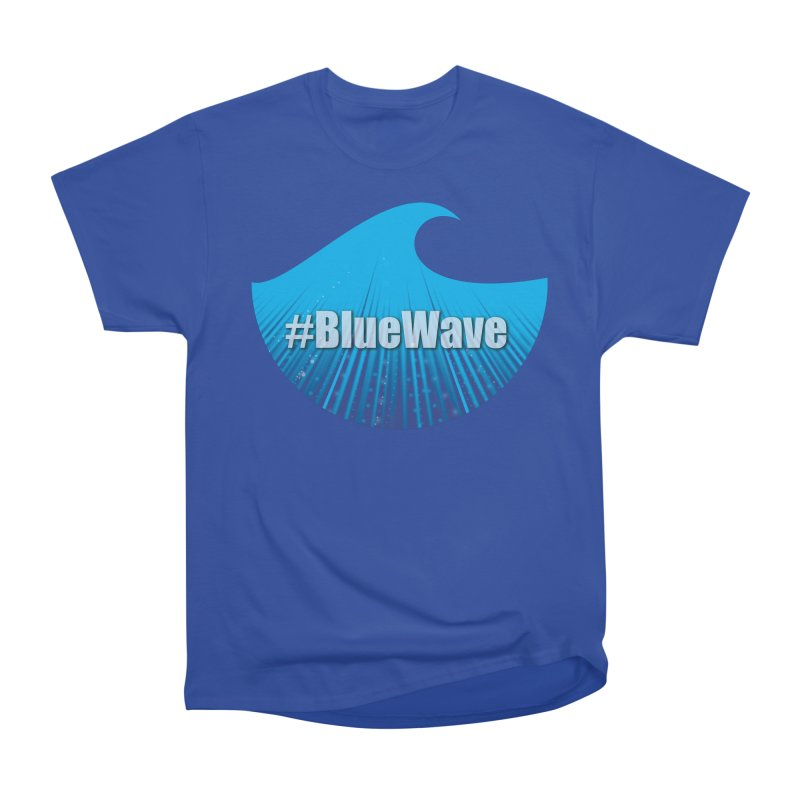 The Blue Wave Men's Heavyweight T-Shirt by Sporkshirts's tshirt gamer movie and design shop.