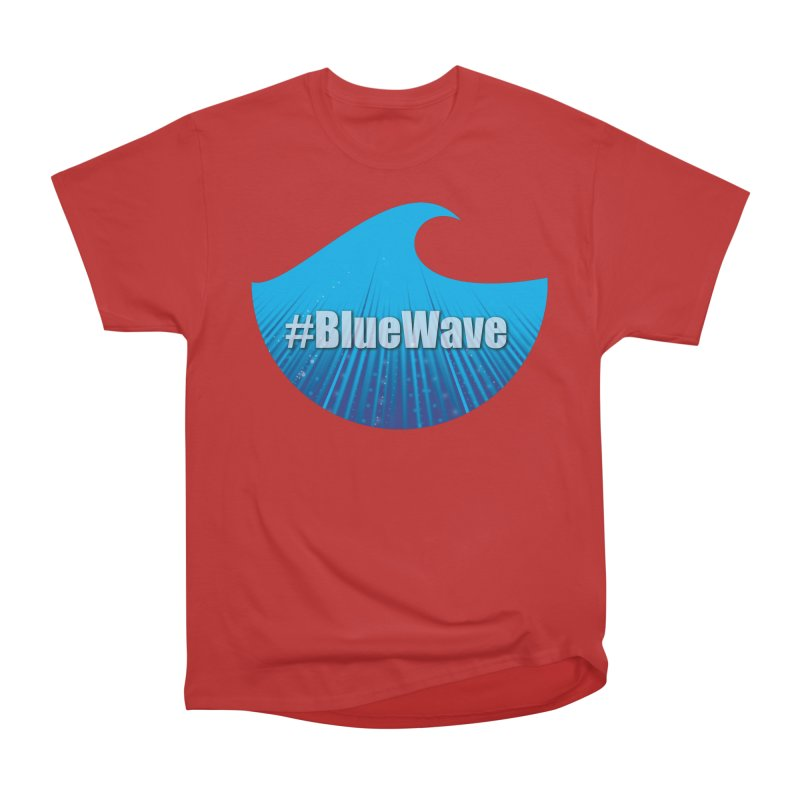The Blue Wave Women's Heavyweight Unisex T-Shirt by Make a statement, laugh, enjoy.