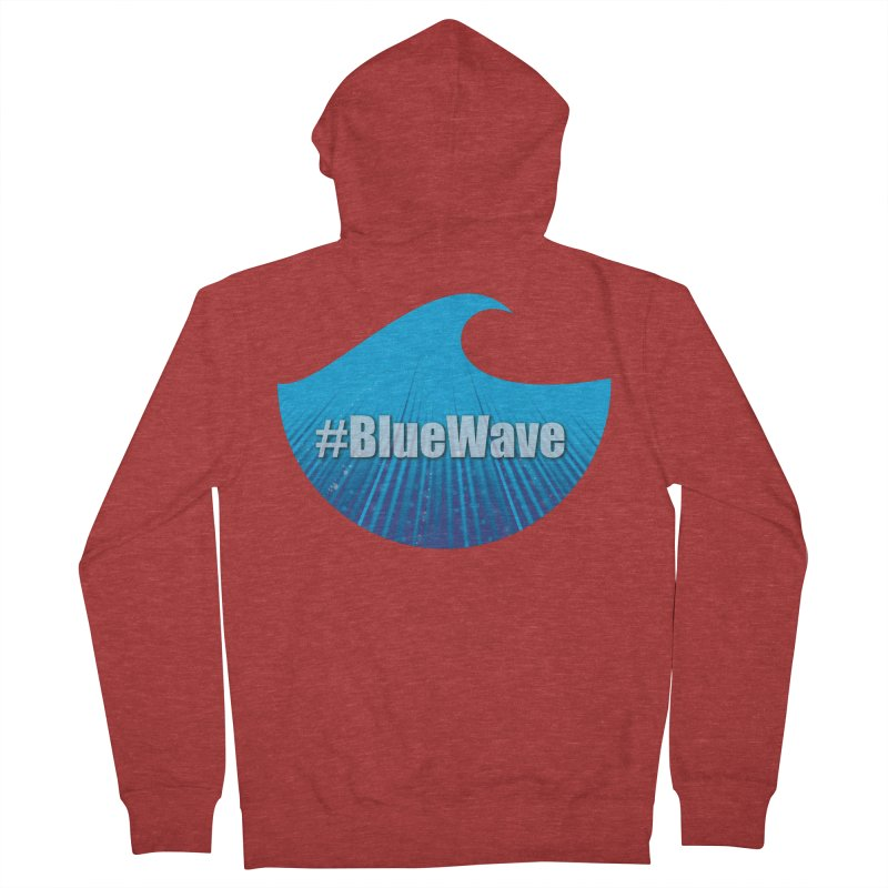 The Blue Wave Women's French Terry Zip-Up Hoody by Sporkshirts's tshirt gamer movie and design shop.