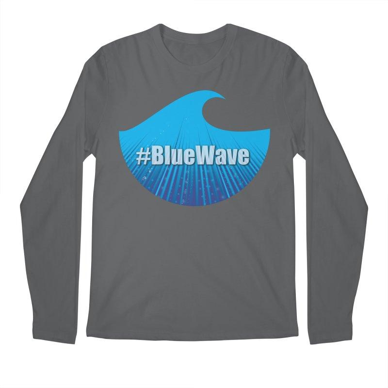 The Blue Wave Men's Longsleeve T-Shirt by Make a statement, laugh, enjoy.