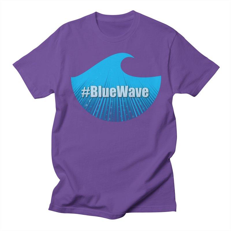 The Blue Wave Women's Regular Unisex T-Shirt by Sporkshirts's tshirt gamer movie and design shop.