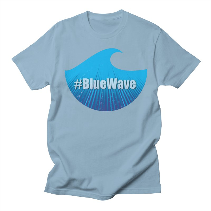 The Blue Wave Women's Regular Unisex T-Shirt by Make a statement, laugh, enjoy.