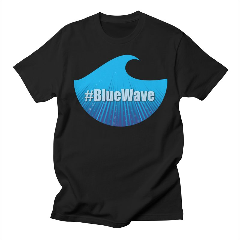 The Blue Wave Men's Regular T-Shirt by Make a statement, laugh, enjoy.