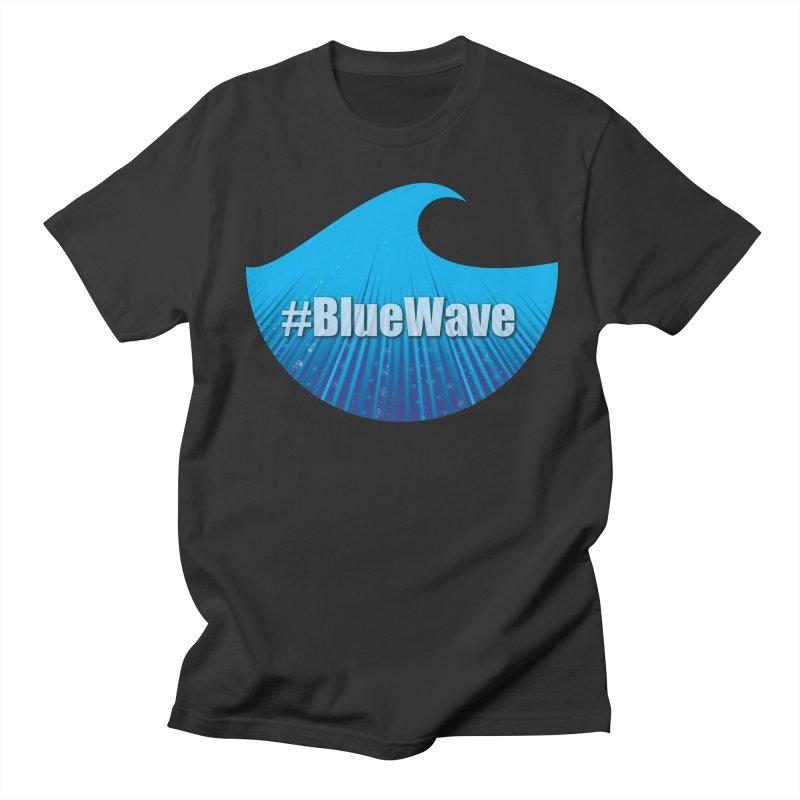 The Blue Wave Men's T-Shirt by Make a statement, laugh, enjoy.