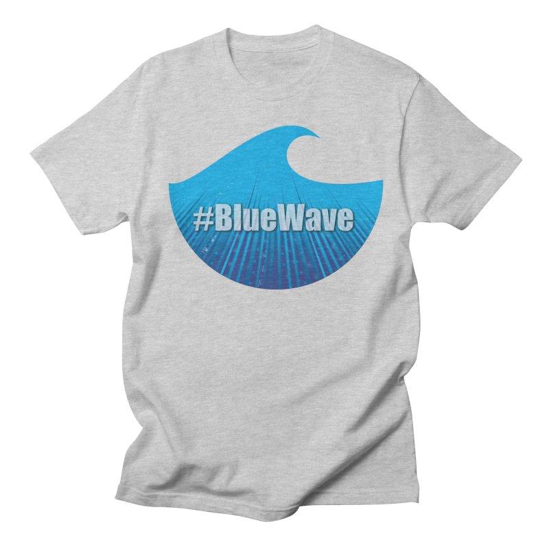 The Blue Wave Men's Regular T-Shirt by Sporkshirts's tshirt gamer movie and design shop.