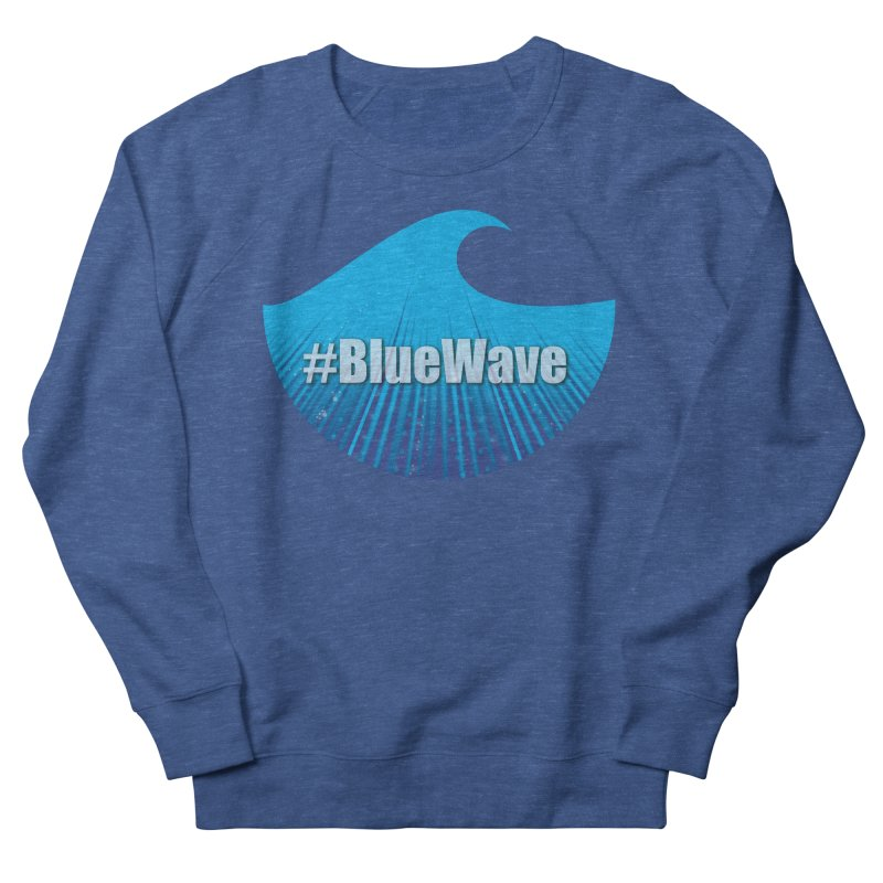 The Blue Wave Women's French Terry Sweatshirt by Sporkshirts's tshirt gamer movie and design shop.