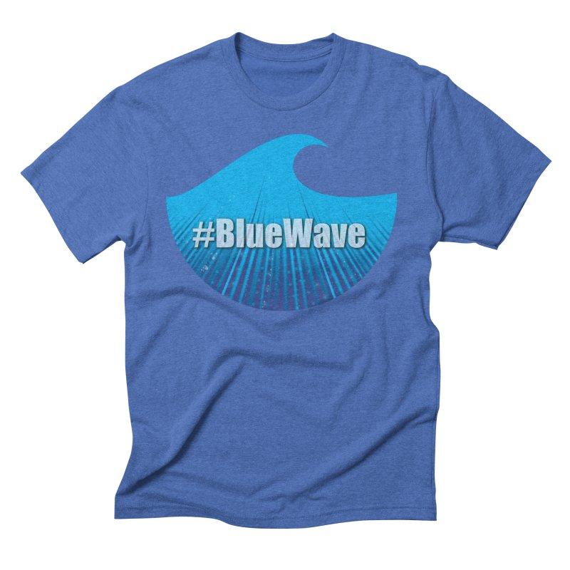 The Blue Wave Men's Triblend T-Shirt by Sporkshirts's tshirt gamer movie and design shop.