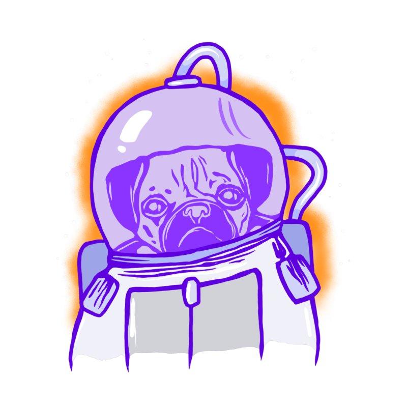 Intergalactic pug Men's T-Shirt by Starheadboy