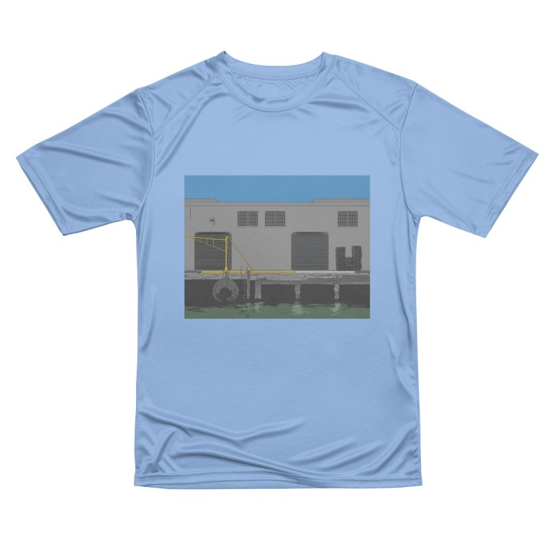 Sf Pier Men's T-Shirt by Stark Studio Artist Shop