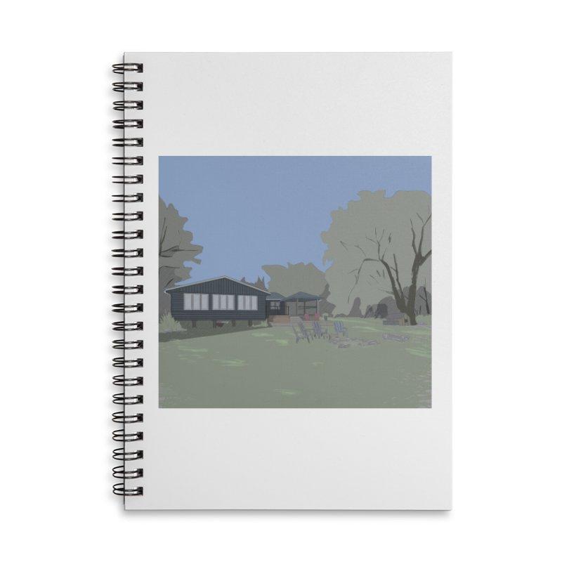 Cottage Accessories Notebook by Stark Studio Artist Shop
