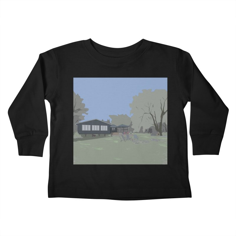 Cottage Kids Toddler Longsleeve T-Shirt by Stark Studio Artist Shop
