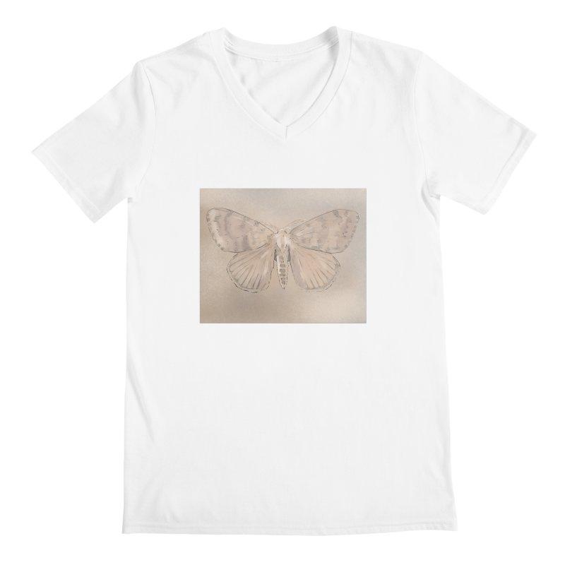 Lymantria dispar Men's V-Neck by Stark Studio Artist Shop
