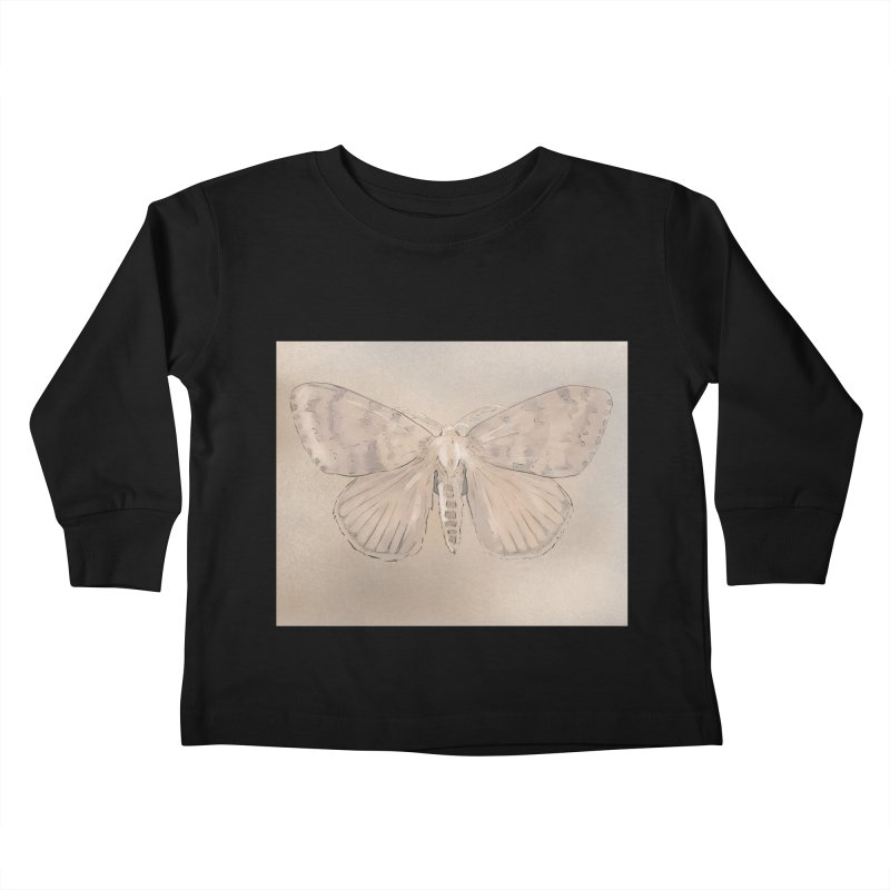 Lymantria dispar Kids Toddler Longsleeve T-Shirt by Stark Studio Artist Shop